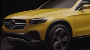 2016: Mercedes- Benz Glc Coupe Concept