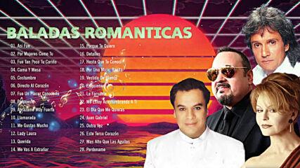 Juan Gabriel, Pepe Aguilar, Rocio Durcal Y Roberto Carlos Mix 50 Exitos Baladas Romanticas Inmortal