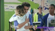 Violetta 3: Виолета прегръща Леон и говори с него за Алекс (еп. 72) + Превод