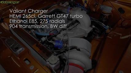 Chrysler Valiant Charger 265ci Hemi Tturbo Garrett Gt47