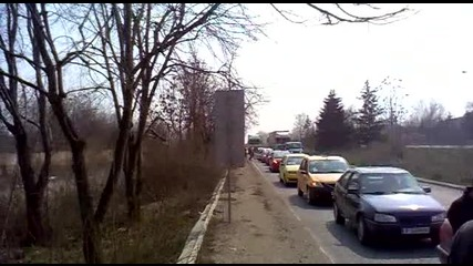 Протест срещу високите цени на горивата Русе 27.03.2011 част 3