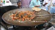 Бърза Храна на улицата .. Egg Bhurji - Masala Egg Scramble - Indian Recipe - Mumbai Street Food