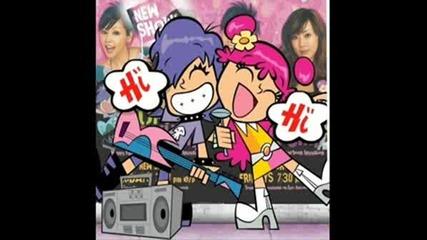 Hihi Puffy Amiyumi - Planet Tokyo (песента!)