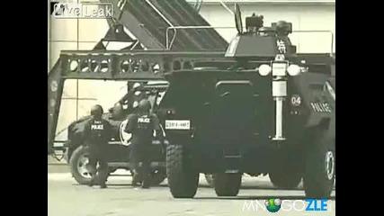 Китайската полиция не се шегува