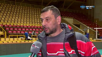 Мнението на Николай Желязков след успеха на Нефтохимик срещу Левски