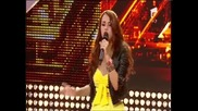 15 годишно момиче изправи всички на крака и зашемети журито - X Factor Romania