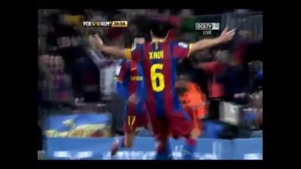 Barcelona 5 - 0 Almeria