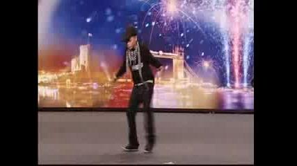 Aidan Davis - танц - Britains Got Talent