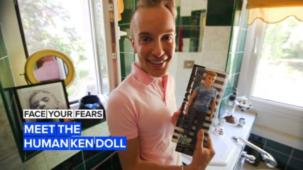 Face Your Fears: The man achieving doll-like perfection