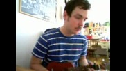Свирене на mini китара(много яко хаха)