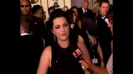 Grammy Awards 2008 - Amy Lee & Terry Balsamo Interview