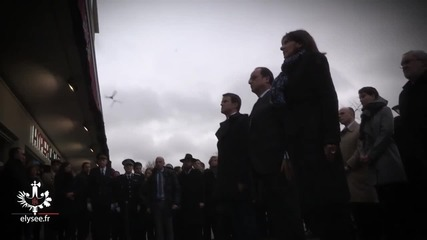 France: Hollande unveils plaque at kosher store where four died