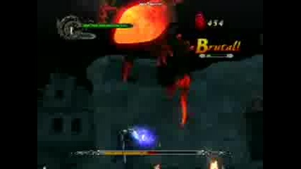 Devil May Cry 4 Combo attack