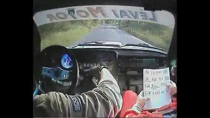 Lada 2106 onboard 1 - rally 2010