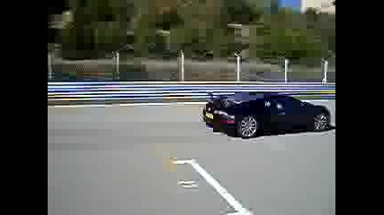 Bugatti Veyron Старт
