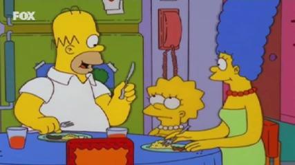 Семейство Симпсън С13 Е06 - Бг Аудио - Лиса става Будист