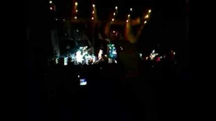 от концерта на Linkin Park в Турция