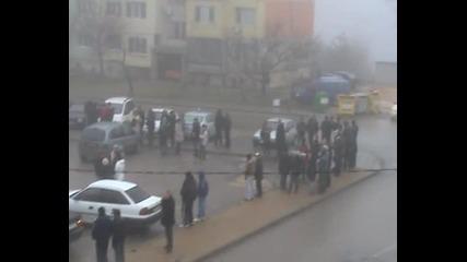 протестът в Балчик 24,02,2013 г