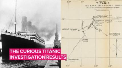 ТИТАНИК потъва преди 108 години. Но какво откриват две независими разследвания на трагедията?