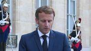 France: Macron and Merkel speak ahead of meeting in Paris