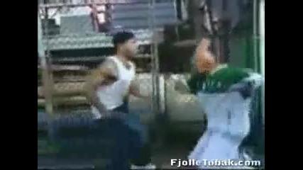 Real gangsta fight