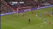 (2014) Ливърпул - Хъл Сити (2-0) - Agger - Goal