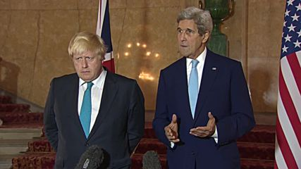 UK: Countries will continue to support Syrian opposition and create more terrorists - Kerry