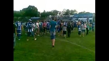 връчване на купата на Спартак (плевен) (сезон 2011/2012) (part 1)
