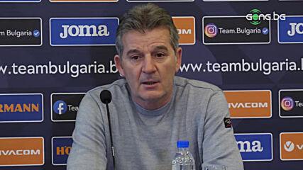 Костадинов: Важно е обновяването на отбора