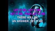 Beatles - Let It Be (karaoke)