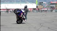 Bmw Motorcycle Stunt Show