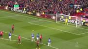 Погба опита всичко да пропусне, но в крайна сметка поведе Юнайтед