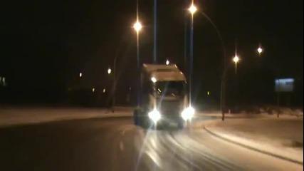 От кога и камионите могат да дрифтират ???