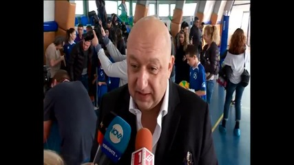 Красен Кралев: Помогнахме на школата на Владо Николов