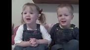 Близнаци рецитират 23 псалом