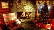 Новогодний футаж _рождество_новогодний интерьер-8