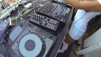Topless Dj (t-dj) Milana - Bora Bora Ibiza