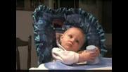 Малко Бебе Пърди Като Луд 100% Смях