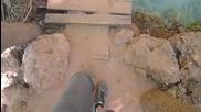 Видео - за къмпинг любителите - разходка из индианския каньон на водопадите Havasu