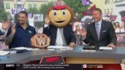 Roman Reigns brings his hot takes to ESPN's