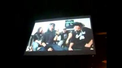 Tokio Hotel Печелят Награда - Rockbjornen