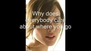 Hilary Duff - Dignity With Lyrics