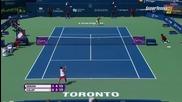 Toronto 2015 Simona Halep vs Sara Errani Set-2