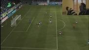 Fifa 12 Ksi играе с брат си Fifa :d Много смях !