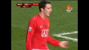 20.01 Манчестър Юнайтед - Дарби Каунти 4:2 Джон ОШей гол ! Карлинг Къп