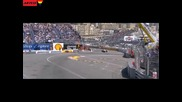 Катастрофата на Кобаяши Формула 1 2010 Гран при на Монако
