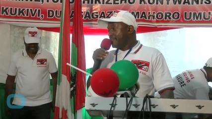 40,000 Flee Burundi Amid Political Crisis