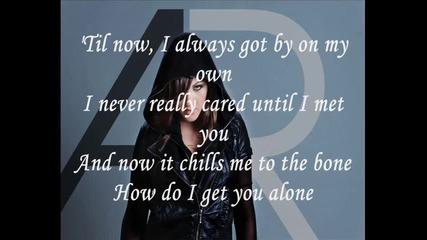Alyssa Reid - Alone Again ( no rap )