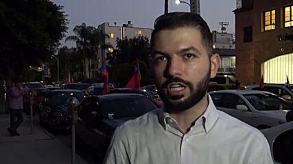USA: 1,000 in LA decry Nagorno-Karabakh hostilities and Turkey's pledged support