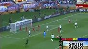 Германия - Сърбия 0:1 - Гол на Йованович - World Cup 2010